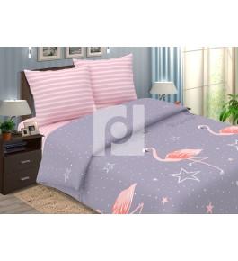 Фламинго и звезда поплин
