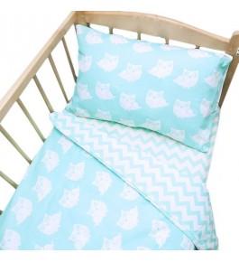 Постельное белье в детскую кроватку 106/111 с простыней на резинке
