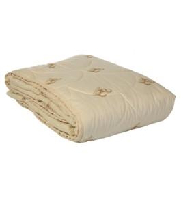 """Одеяло """"Престиж-овечья шерсть"""" глоссатин 300г/м2 чемодан"""