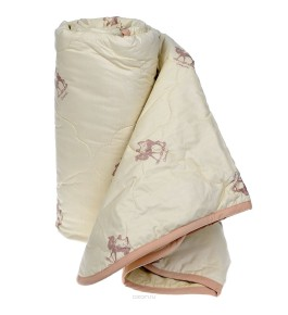 Одеяло Верблюд п/э 150г/м.кв. чемодан