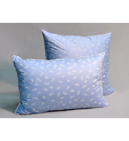 Подушка Лебяжий пух -тик