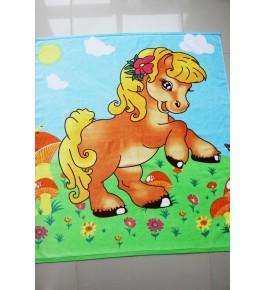 Полотенце Зверюшки лошадка