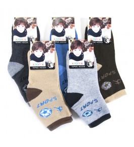 Носки детские махра для мальчика 12 шт