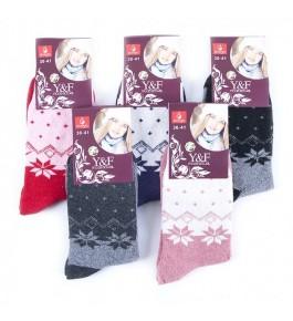 Носки женские теплые 10 шт в ассортименте