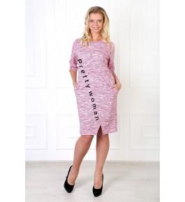 Платье Мадам футер