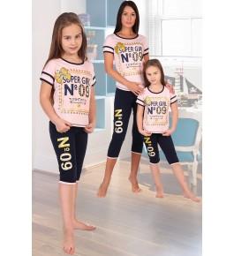 пижама пн-2218 бриджи детская