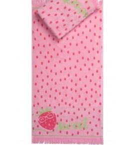 Полотенце махровое «Sweet strawberry»