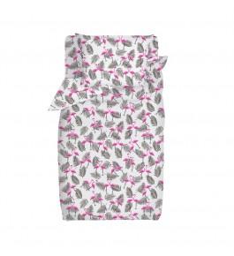Фламинго бязь