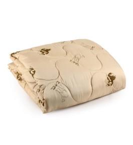 """Одеяло """"Престиж-верблюд"""" глоссатин 300г/м2 чемодан"""