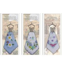 Платки носовые Подарочный женский набор (1 шт) в пакете
