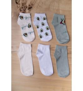 Носки Авокадо женские